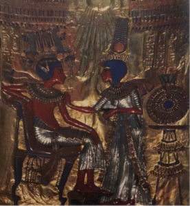 ツタンカーメン王とアンケセナーメン王妃