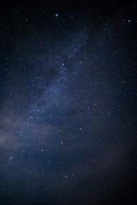 星空背景写真